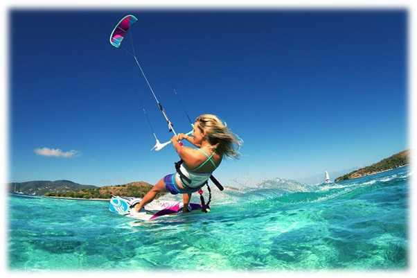 kite surfing soft